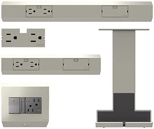 Legrand Adorne Under Cabinet Pro Starter Kit In Titanium