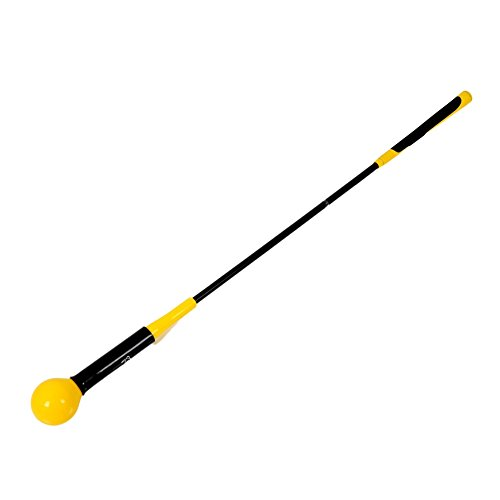 Balight Golf Swing Trainer Aid and Correction for Strength Grip Tempo & Flexibility Training Suit for Indoor Practice Chipping Hitting Golf Accessories - Practice Stick Golf