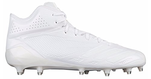 Adidas Adizero 5star 6.0 Mid Cleat Mens Football Running Bianco / Bianco Corrente
