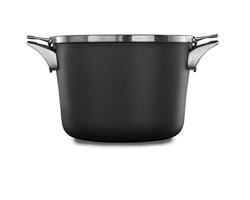 Calphalon Premier Space Saving Nonstick 8qt Stock Pot with Cover