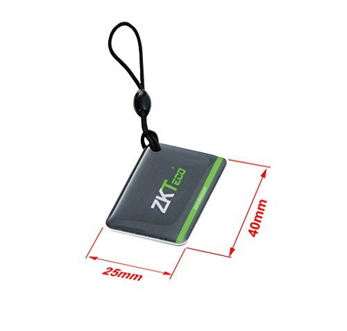ZKTeco Mini RFID Card Smart Door Entry Access Control Plastic Card .(pack of 10)…