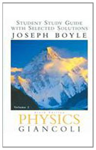 Physics: Student Study Guide Vol. 2, Sixth Edition