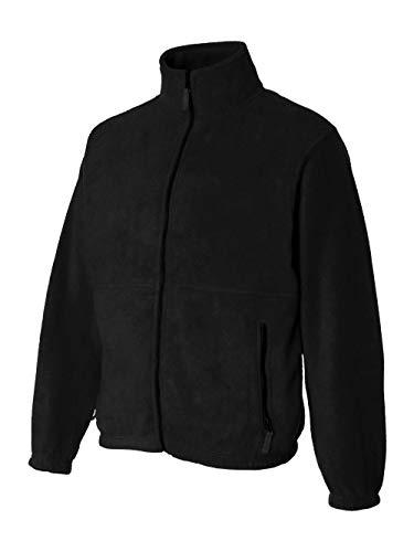 Casual Jacket Sierra - Sierra Pacific Adult Anti-Pill Fleece Full-Zip Jacket (Black) (L)