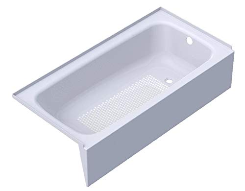 Cayono 60 x 30 Soaking Bathtub Drain Location Right