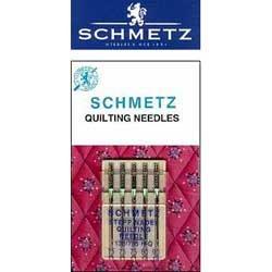 UPC 036346317359, Schmetz Quilt Machine Needles 5/Pk- Size 11/75