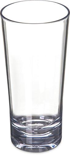 Carlisle 561407 Alibi Heavy-Weight Plastic Beverage Glass, 14 oz (Set of 24) Review