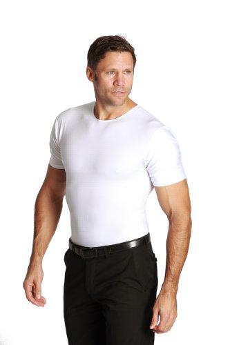 96eefb0c Insta Slim 6 pack crew-neck t-shirts, look up to 5'' slimmer ...