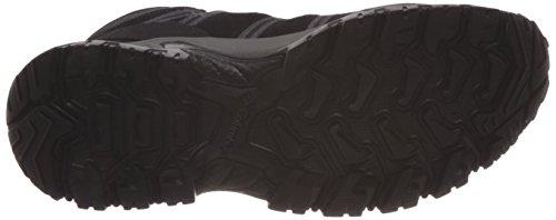 Columbia Hombres Grants Pass Wp Zapatillas De Deporte Con Cordones Black, Carbón De Leña