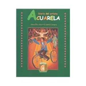 Descargar Libro Acuarela Journal C / Watercolors Journal C: Diario Del Artista/ Watercolor Painter Alma Flor Ada