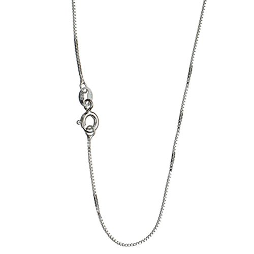 Sterling Silver Chain Necklace Italy