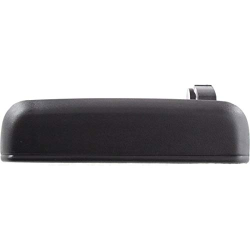 - New Rear Left Driver Side Exterior Door Handle For 1995-1999 Toyota Tercel Plastic, Textured Black, Without Keyhole TO1520102 6924016090