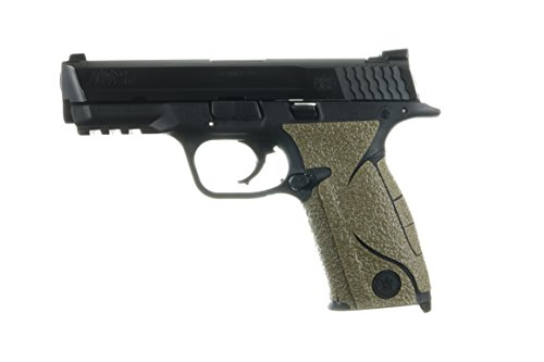 - TALON Grips for Smith & Wesson M&P Full Size .22/9mm/.357/.40 (Small Backstrap, Rubber-Moss)