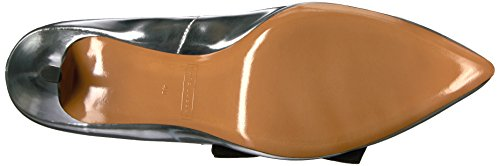 Toe Jacobs Pointy Daryl Marc Women's Silver Pump wZfqxzU