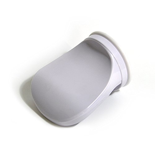 TheJD Shower Foot Rest Shaving Bathroom shower foot step Suction Cup & Non-Slip sticker
