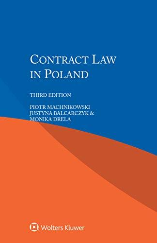 Contract Law in Poland por Piotr Machnikowski