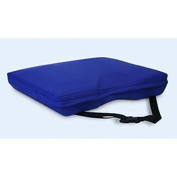 "Apex Core Coccyx Gel-Foam Cushion in Royal Blue Size: 3""H x 18"" W x 16"" D"