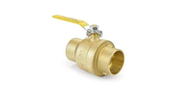 Sweat Connections Drain 1//2 Solder Valogin A30132-1//2 Lead Free Full Port Forged Brass Ball Valve with Waste