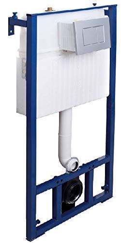 Drückerplatte für WC Vorwandelemente WC-Spüle Farbe Chrom Glänzend// Chrom Matt 3
