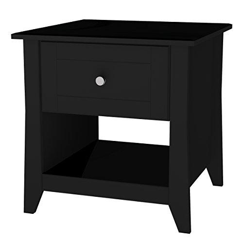 - Nexera Tuxedo End Table 2008006, Black