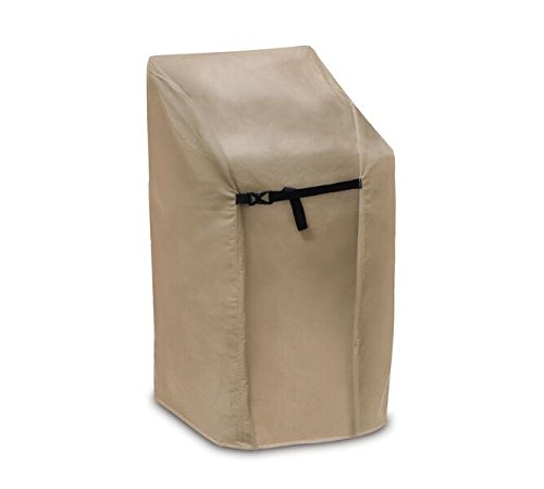 Protective Covers Weatherproof Stacking Chair Cover, Tan (Stacking Chair Cover)