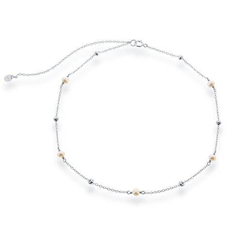 Sterling Silver Freshwater Pearls Necklace product image