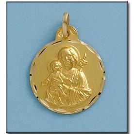 Médaille D'or 18kt San Jose 18mm