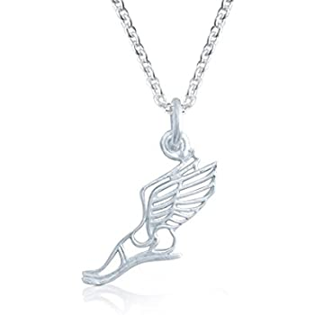 Amazon Gone For A Run Livia Collection Sterling Silver Winged