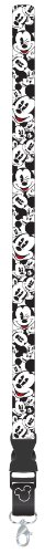 Plasticolor 004442R01 Mickey Mouse Expressions Lanyard/Key Chain