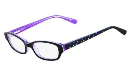 Disney Princess Womens Eyeglasses - Disney Eyewear Princess Starlet Eyeglasses 007 Black Iris 43 15 120