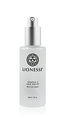 Lionesse Vitamin E Hair Serum - Hair Shine Serum For Lasting Shine - Aloe Vera Hair Repair Serum - Hair Treatment Serum For Healthy Tresses - Conditioning Anti Frizz Serum - Hair Straightening Serum