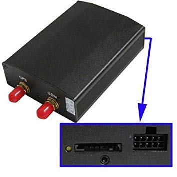 Uniqus GPS GSM GPRS Vehicle Tracker(Black)