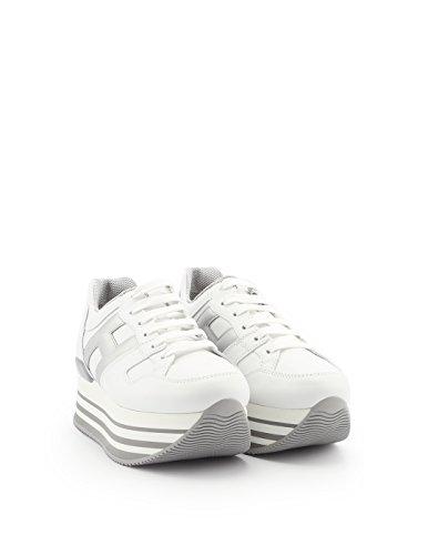 Bianco Hogan Donna HXW2830T548IJ70351 Pelle Argento Sneakers xww4XOqY
