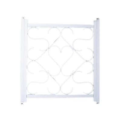 "Camco Adjustable Screen Door Deluxe Grille - Protects RV Door Screen and Prevents Damage, Adjusts From 20"" - 32"", Installation Hardware Included- White (43997): Automotive"