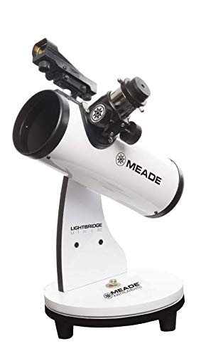 Meade Instruments LightBridge Mini 82 Telescope, White (203001)
