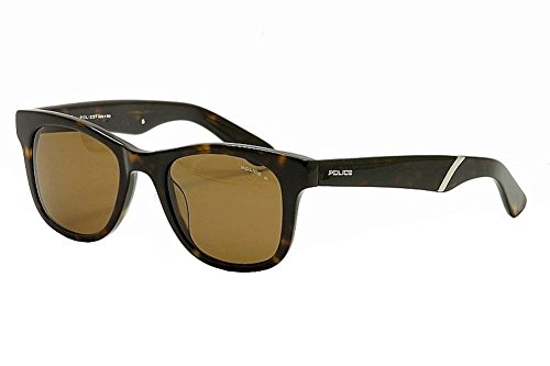Police S1715M-722P Square Sunglasses,Tortoise,50 - Police 2012 Men Sunglasses For