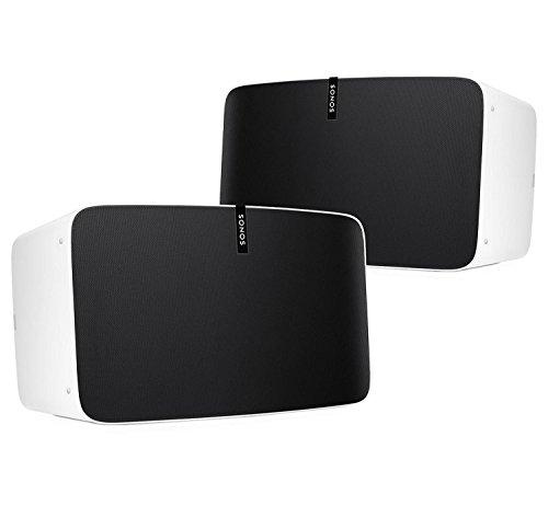 Sonos PLAY:5 Multi-Room Digital Music System Bundle (2 – PLAY:5 Speakers) – White