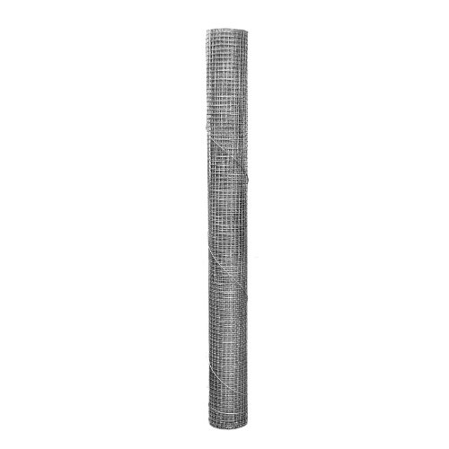 1/4 Inch Mesh 24 Inch Tall x 5 Feet Long Hardware Cloth (Wire Steel Mesh)