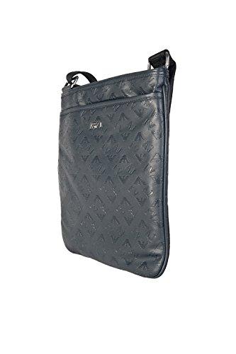 Armani Aj Logotipo Diseño Tablet Bolso 06292qx Navy blue