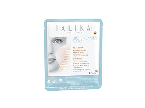 Bio Enzymes After-Sun Mask - Talika - After-Sun Biocellulose Mask - Moisturizing and soothing mask - Face Mask with second skin effect