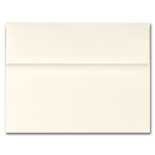 Fine Impressions Ecru Envelopes - A2 (4 3/8 x 5 3/4) 70 lb Text Vellum - 250 per Box