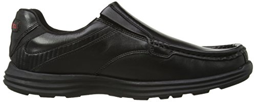 Slip Mocassini nero Uomo Reasan Leather Kickers Am AOvq4v