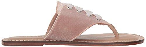 Bernardo Women's Matilda Flat Sandal Blush Velvet XQzJ9