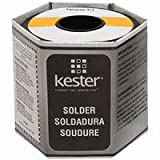 Kester 24-6337-0039 Rosin Cored Wire Solder Roll, 44 Activated, 63/37 Alloy, 0.04″ Diameter