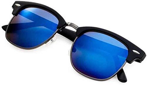 548a1dd9fa9c2 Flynn Men s Clubmaster Sunglasses (Blue)  Amazon.in  Clothing ...