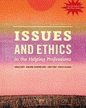img - for Bundle: Ethics in Action (with Workbook, DVD and CourseMate Printed Access Card), 3rd + Issues and Ethics in the Helping Professions, Updated with 2014 ACA Codes (Book Only), 9th, book / textbook / text book