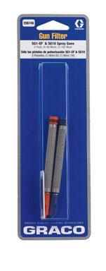 Graco 288748 60-Mesh and 100-Mesh SG10 Airless Spray Gun Filters, 2-Pack