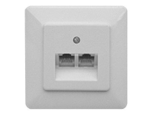 ZE Kommunikationstechnik UAE 8/8 UP - Caja registradora Color blanco