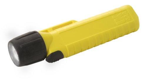 Underwater Kinetics Flashlight Yellow - Underwater Kinetics 4 AA Xenon Front Switch Flashlight (Safety Yellow)