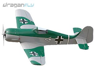 Focke-Wulf FW 190 German WW2 Fighter Warbird Electric RC