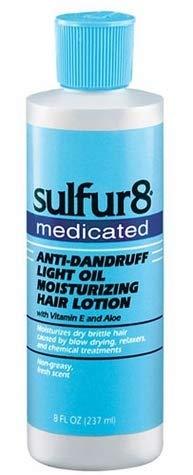 - Sulfur 8 Medicated Anti-dandruff Light Oil Moisturizing Hair Lotion